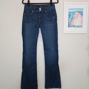 "Hudson Signature Mid rise bootcut jeans 34"" inseam"